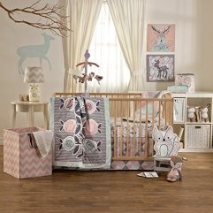 The nursery bedding for Nora's room!